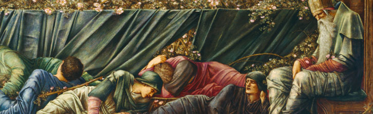 Burne-Jones, The Council Chamber 1872-1892