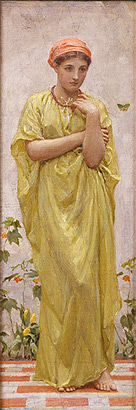 The Green Butterfly, c. 1879-1881; Albert Moore (1841-1893)